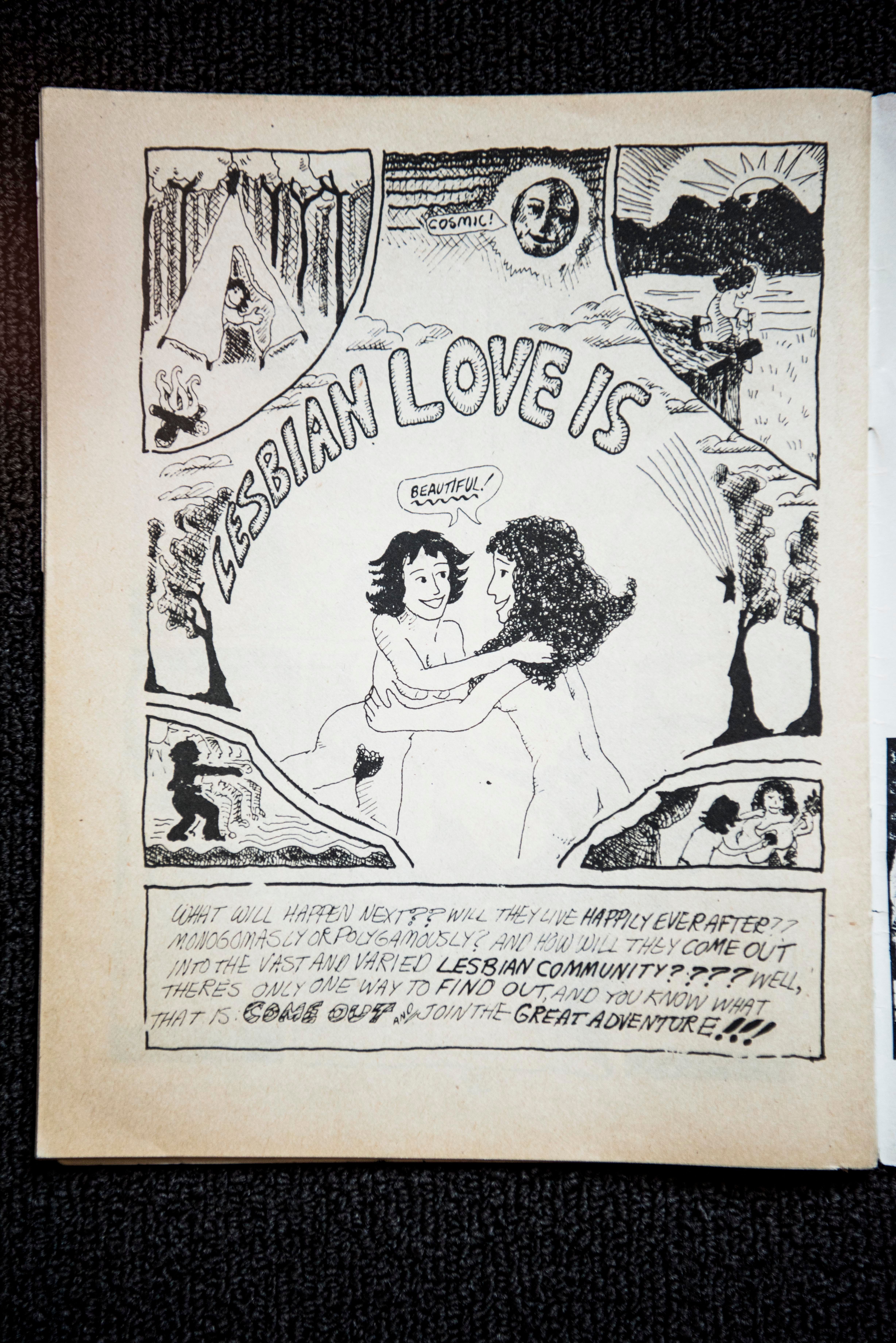 Mary Wings Just Wanted An Orgasm When She Created The First Lesbian Comic