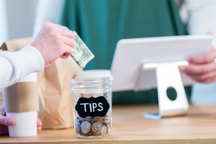 The tip jar is not an obligation, but it's a nice perk for staffers when you receive special service.