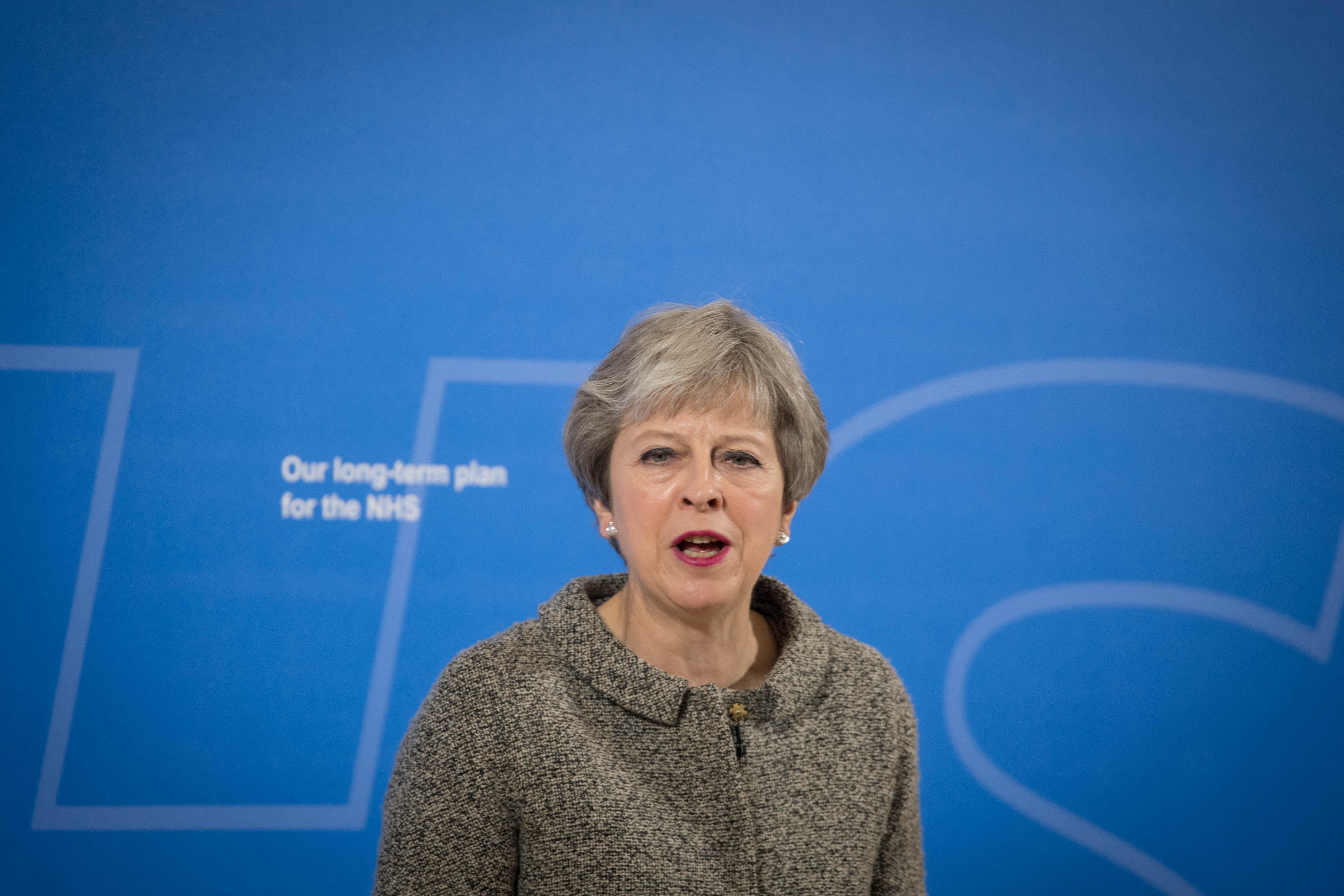 Brexit-Schelte für May: Großbritanniens Premierministerin steht vor erneuter Machtprobe