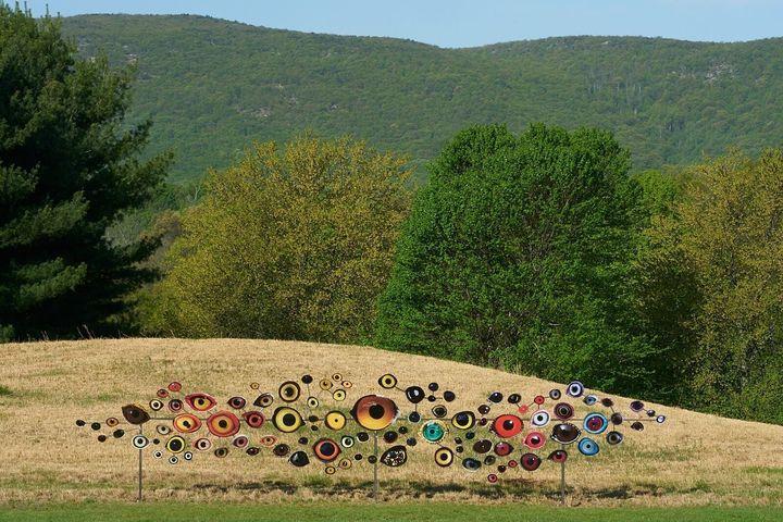 "Jenny Kendler's ""Birds Watching."""