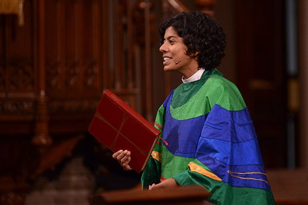Rev. Winnie Varghese is the Director of Justice and Reconciliation at Trinity Wall Street church.