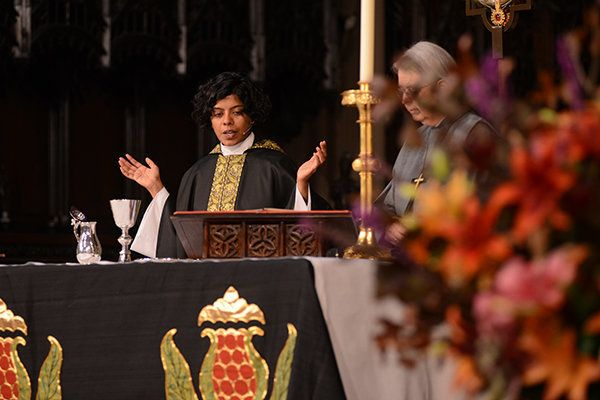 Rev. Winnie Varghese was raised in an Indian Christian church.