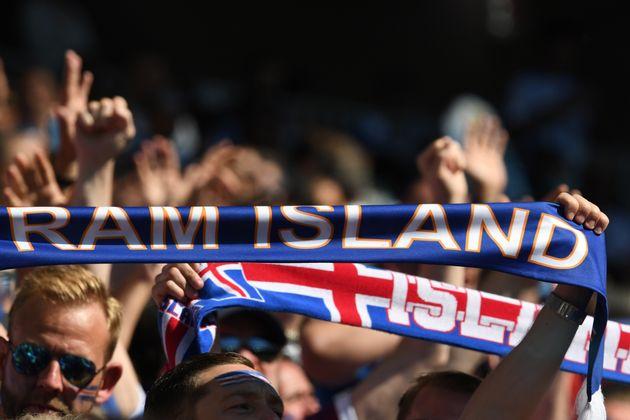 아이슬란드의 역대 최초 월드컵 첫 경기 시청률은