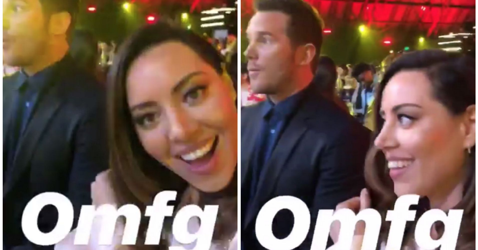 Aubrey plaza dating chris pratt