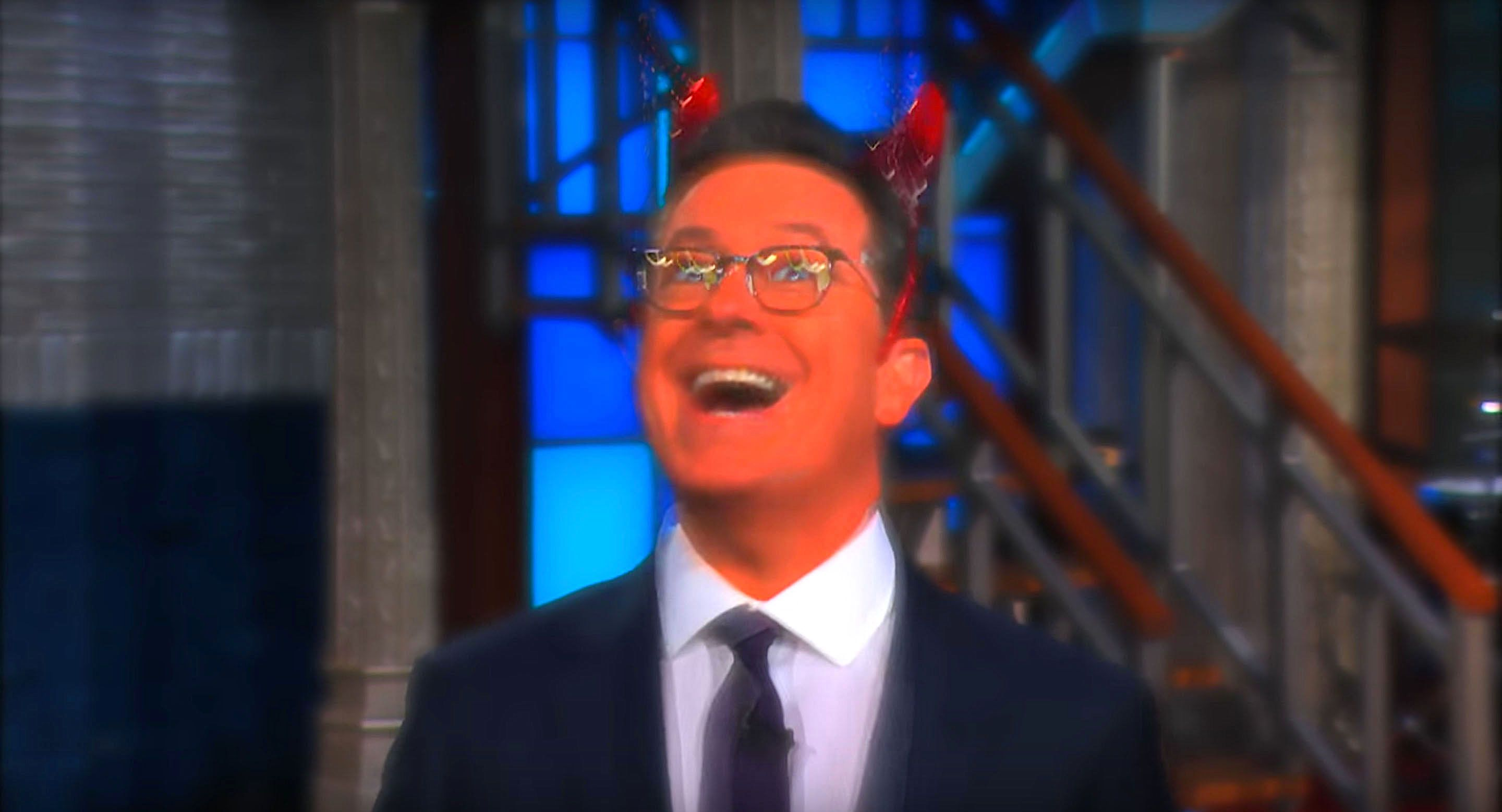 Stephen Colbert plays the devils advocate on the issue of separating immigrant families