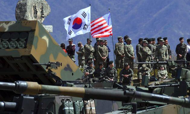 ΗΠΑ και Νότια Κορέα συμφώνησαν να αναβληθούν τα κοινά στρατιωτικά