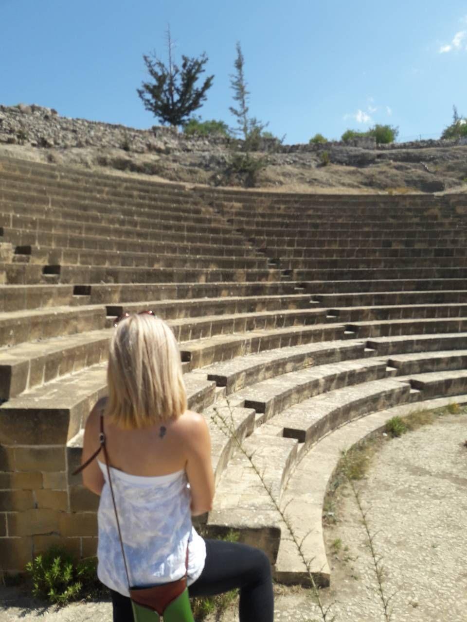 Αμφιθέατρο στο αρχαίο βασίλειο των