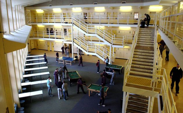A wing at HMP Woodhill near Milton