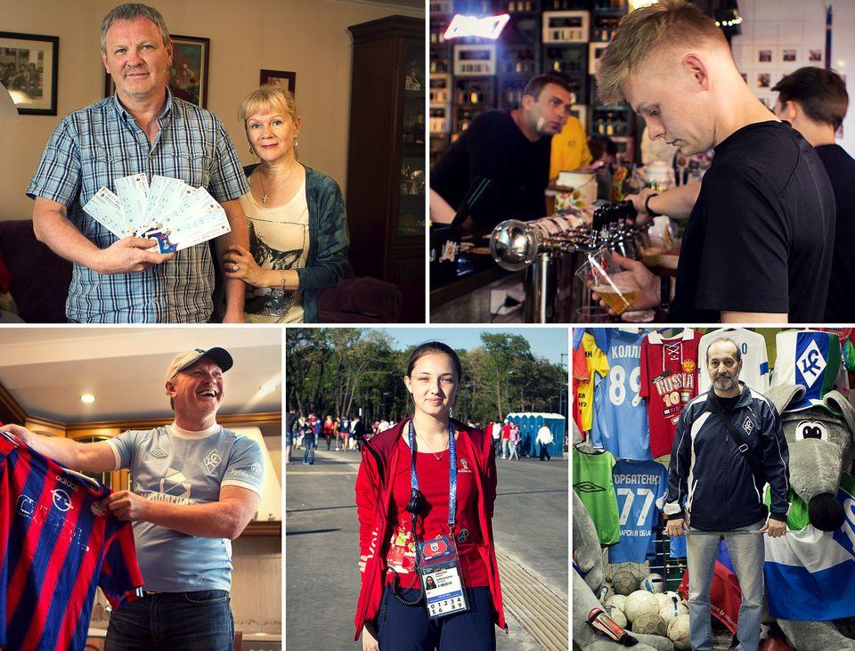 24 horas en la ciudad que simboliza la inversión masiva de Putin en el