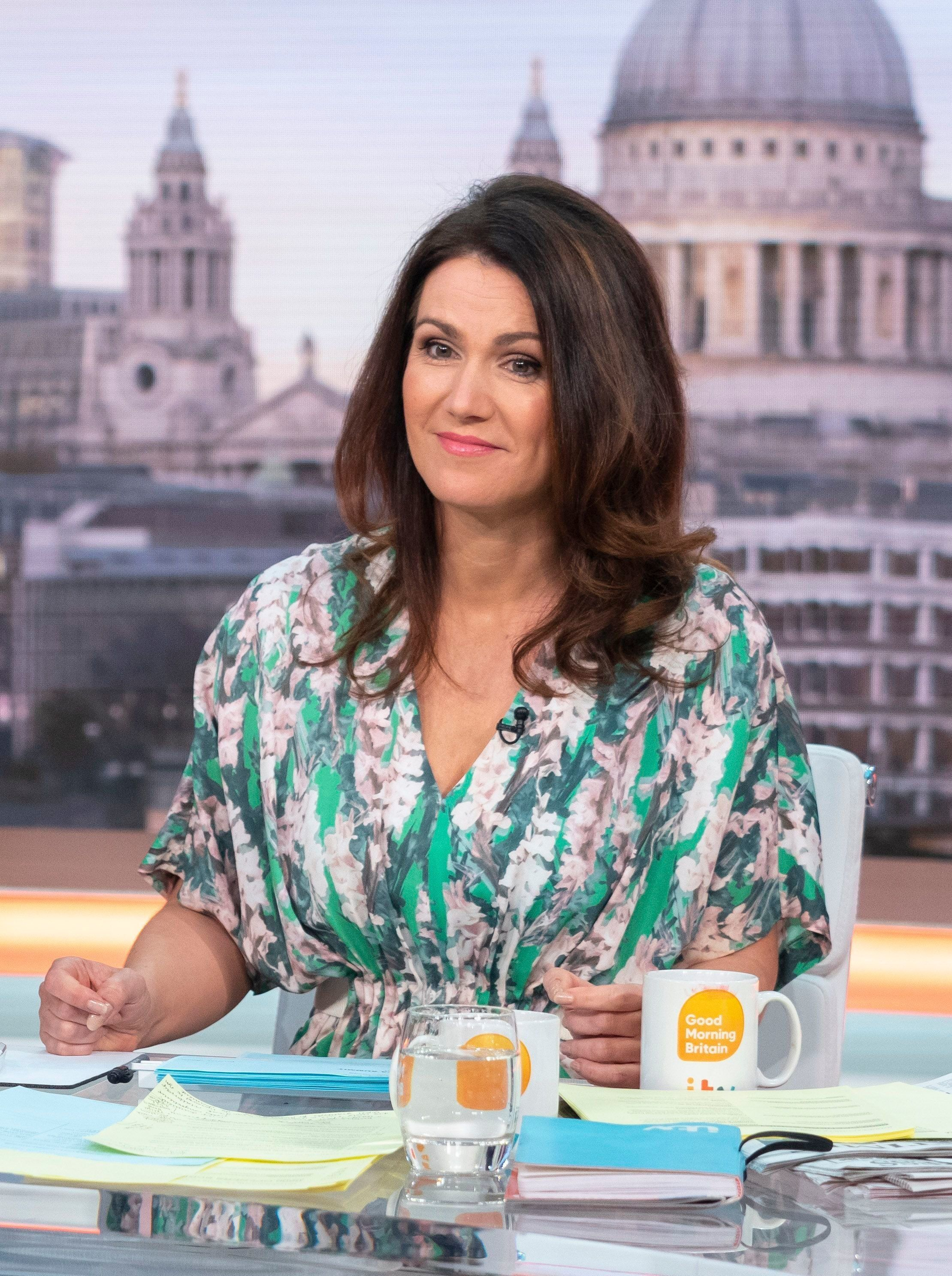 Susanna Reid: 'I've Had Enough Of Men Telling Me How To Be A
