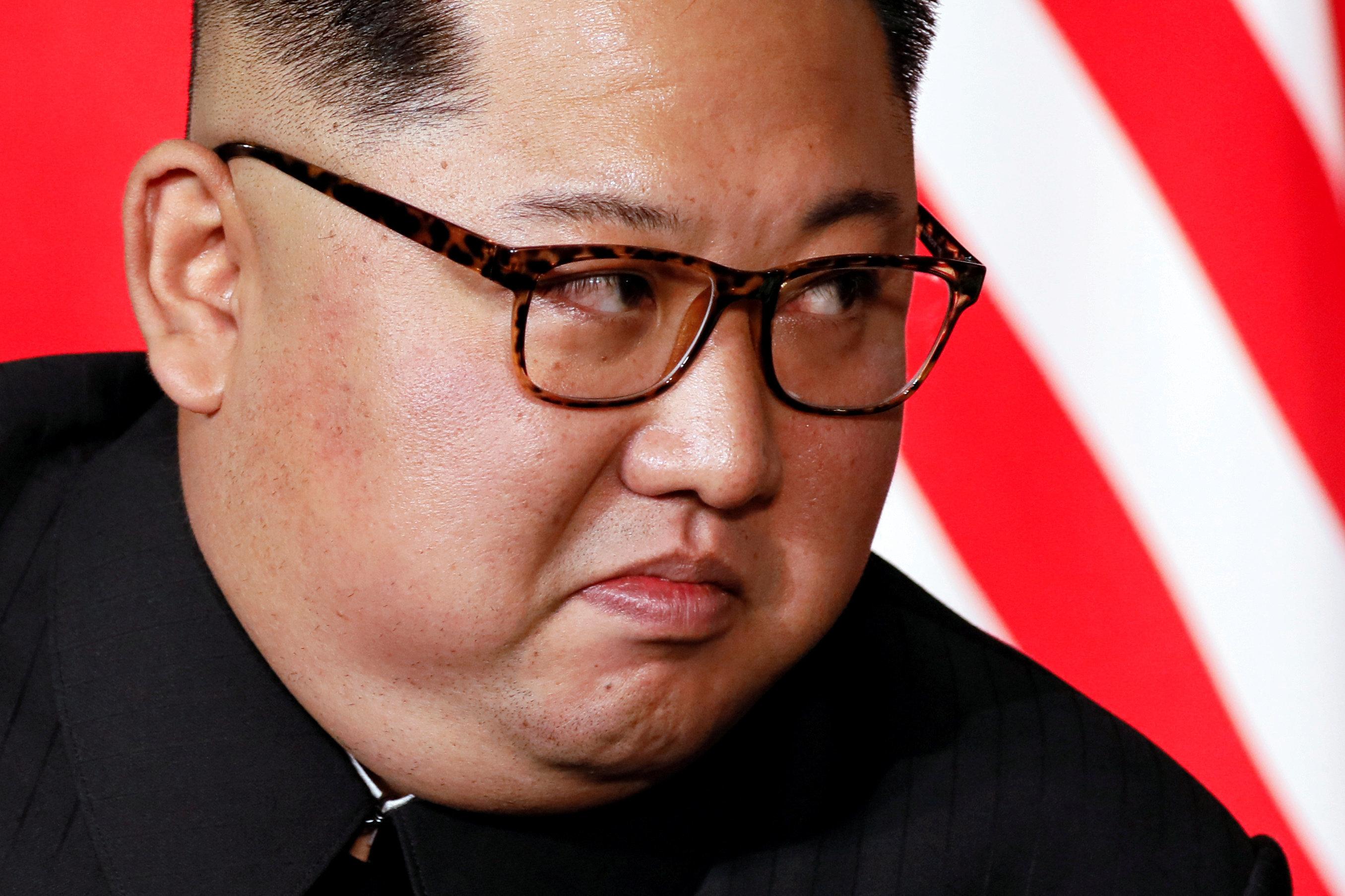 김정은이 또다시 중국을