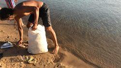 Nettoyons nos plages: Ce tunisien donne l'exemple