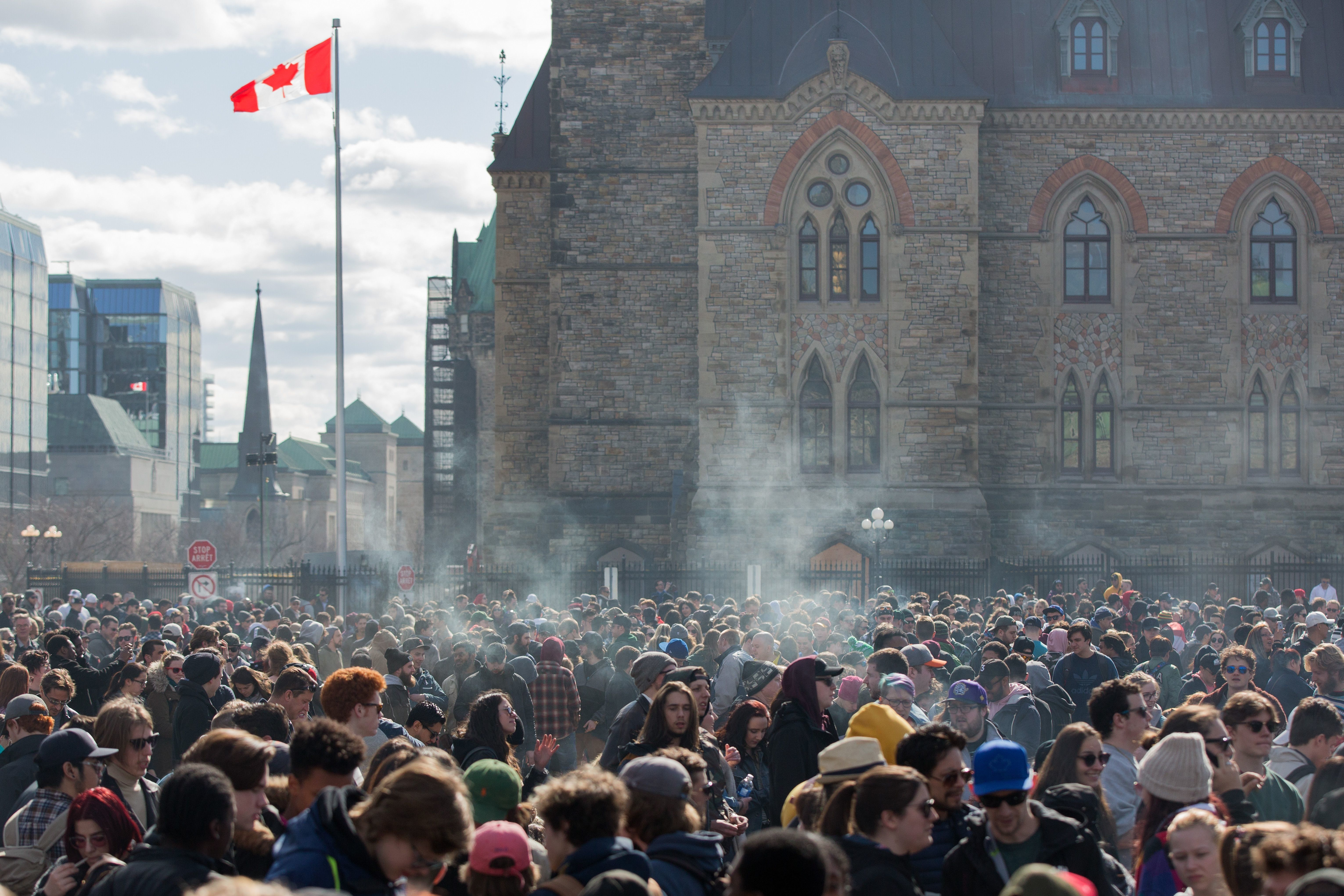Canada's Parliament Votes To Legalize