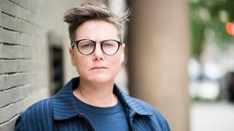 NEW YORK, NY - JUNE 15:  ONE TIME USE ONLY - NO OTHER USES APPROVED WITHOUT AUTHORIZATION FROM CELEB Hannah Gadsby pose for photos in New York on June 15, 2018. (Photo by Damon Dahlen/HuffPost) *** Local Caption ***