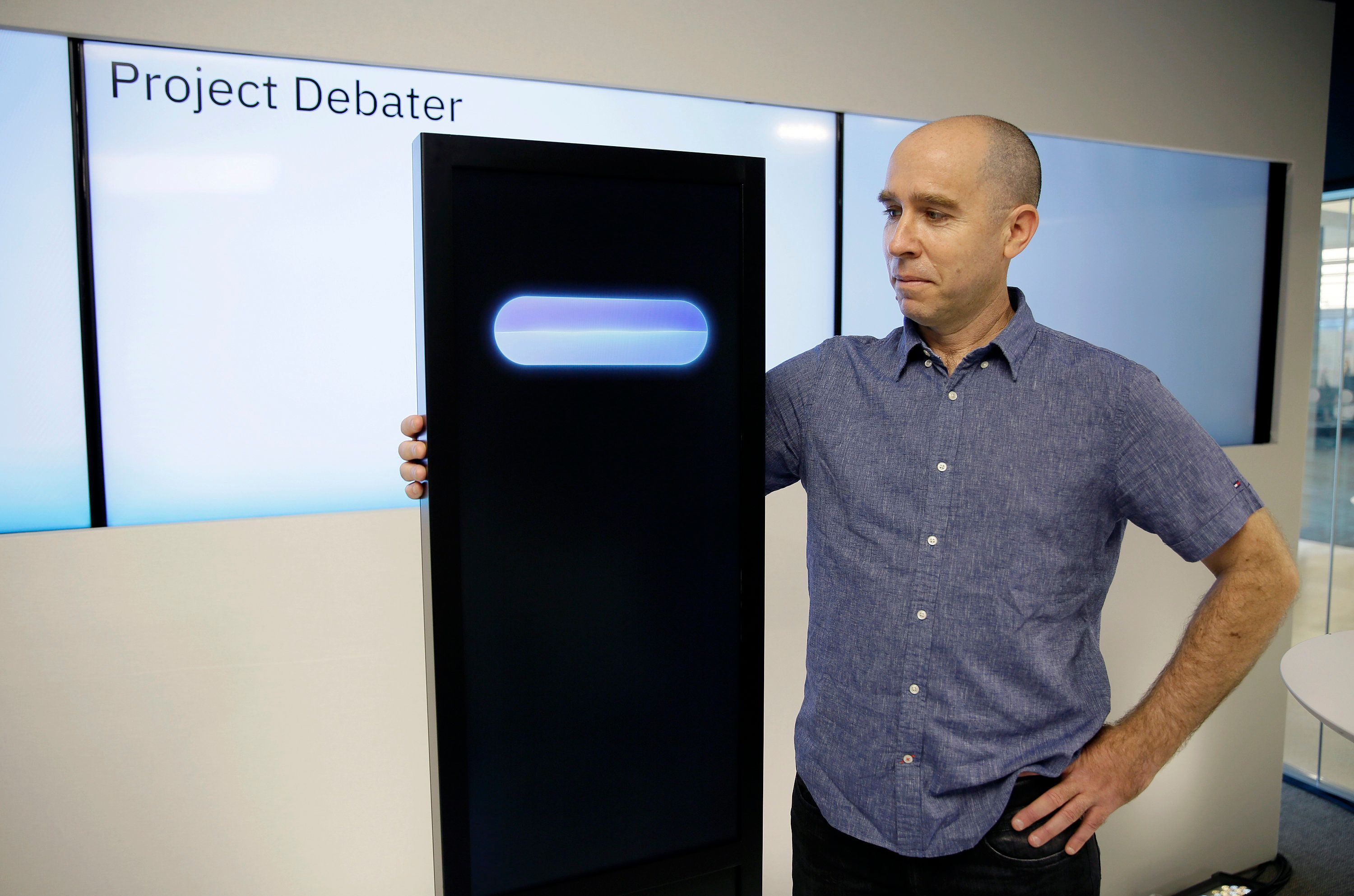 A Human And A Computer Held A Live Debate And The Human Didn't
