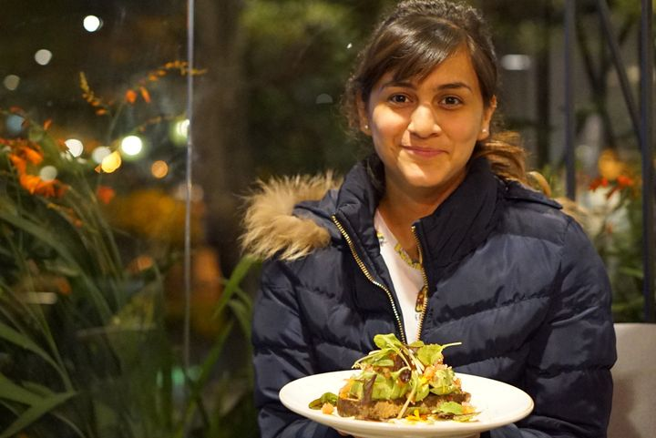 Lisa Ramírez encounters avocado toast at Azahar Coffee in Bogota, Colombia.