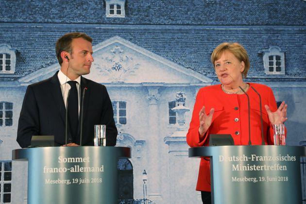 Συμφωνία Μέρκελ - Μακρόν για προϋπολογισμό της