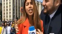 Βίντεο: Αθλητικογράφος παρενοχλείται σεξουαλικά on camera ενώ καλύπτει το