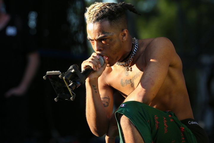 XXXTentacion performing in Miami, a year before his death this week.