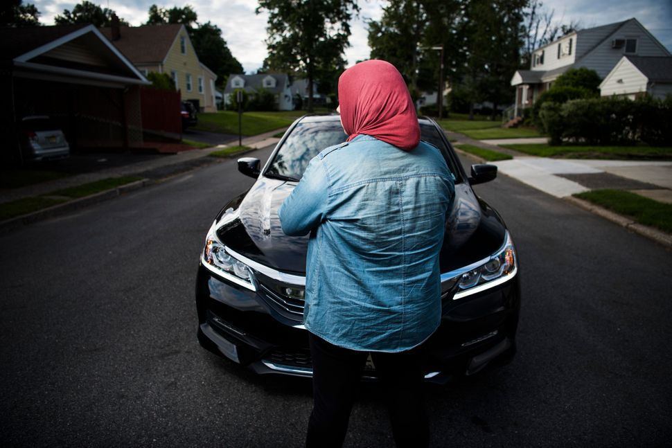 Omar is one of many hijab-wearing Muslim drivers who face hate at the wheel. The last incident has left her shaken.