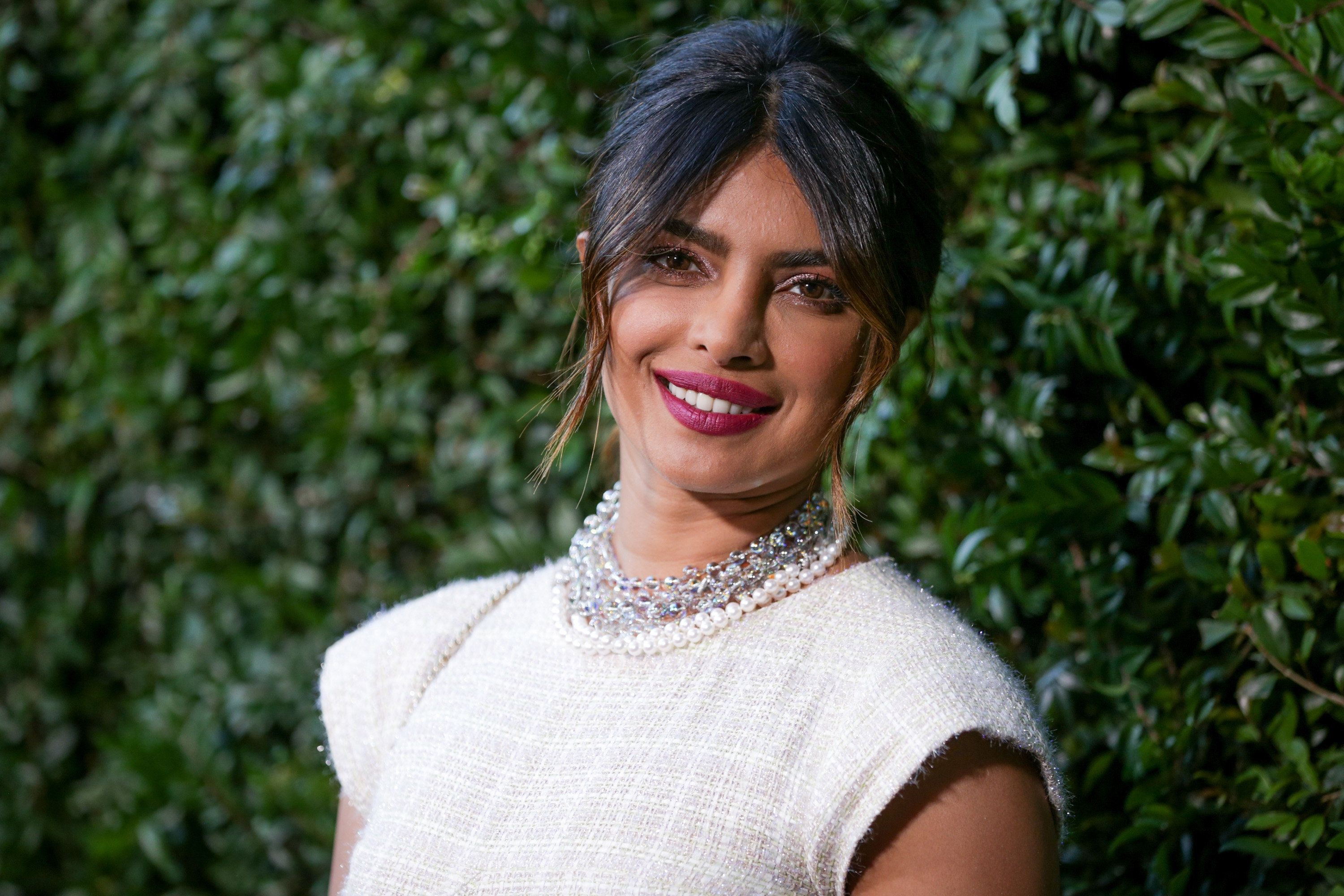 MALIBU, CA - JUNE 02:  Priyanka Chopra attends the CHANEL Dinner Celebrating Our Majestic Oceans, A Benefit For NRDC on June 2, 2018 in Malibu, California.  (Photo by Rich Fury/Getty Images)