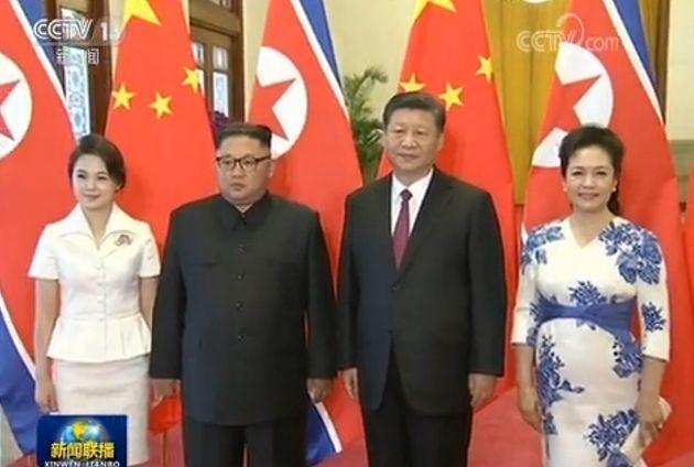 김정은과 시진핑이 3번째 만나 '밀월'을