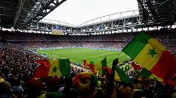 Senegal And Japan Football Fans Celebrate By Helping Clean Up Stadiums After