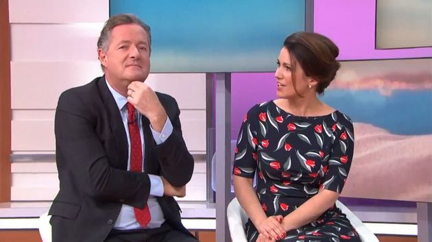 Piers Morgan was left with egg on his face after trying to humiliating Hayley from 'Love