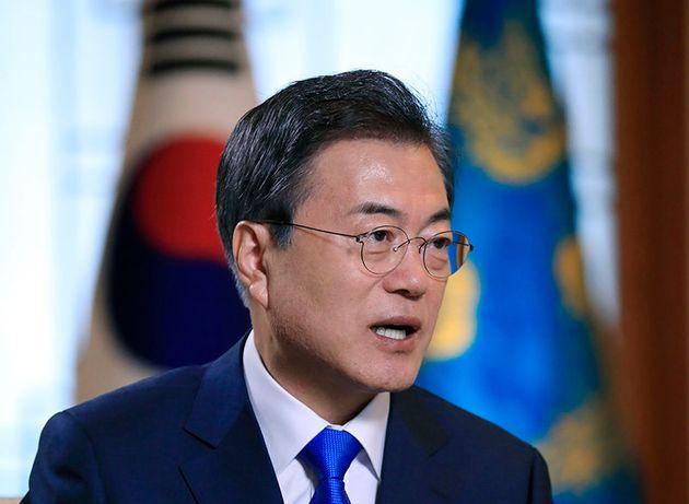 문대통령이 김정은 위원장을