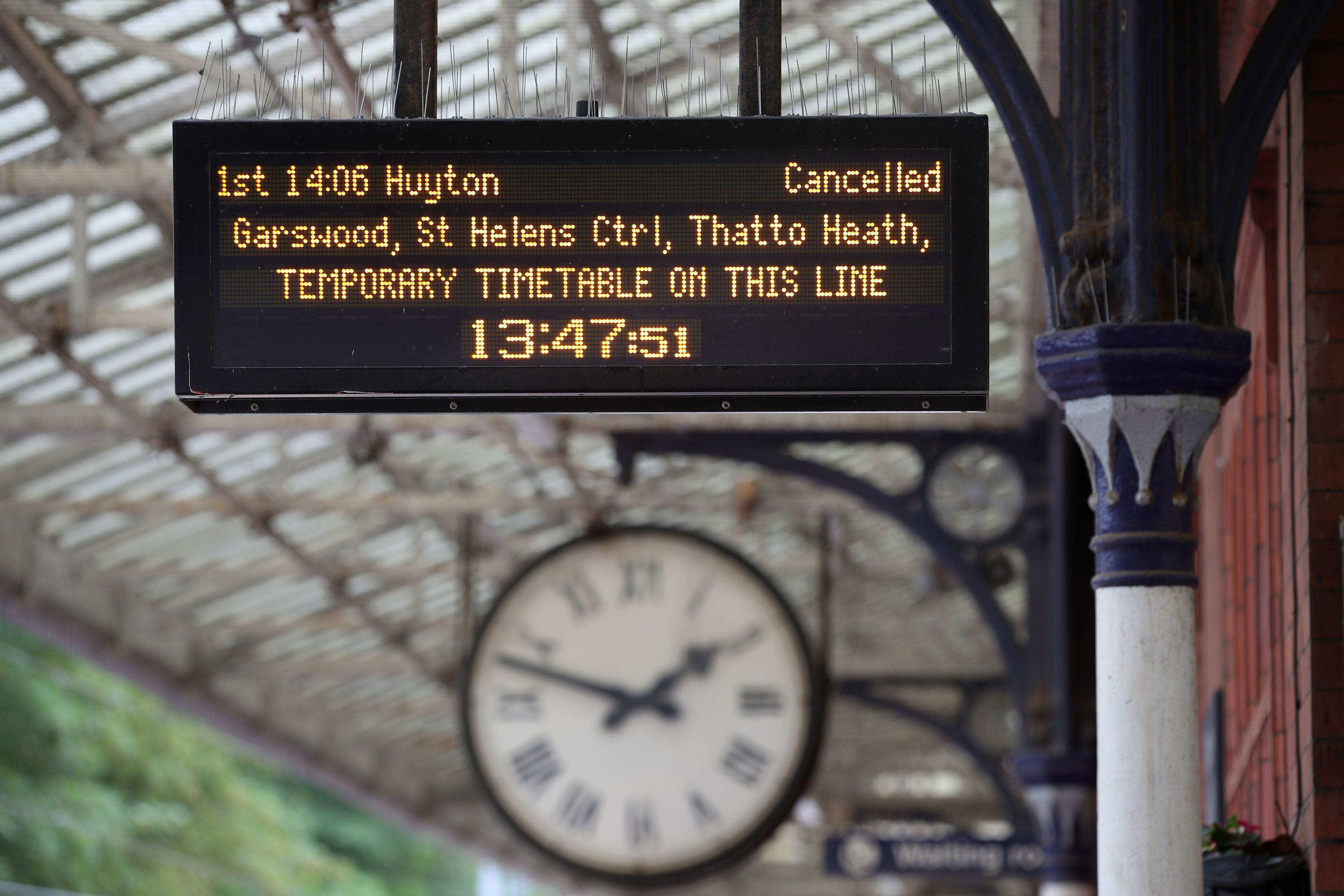 Chaos Until Christmas: Rail Timetable Delays Could Go On For