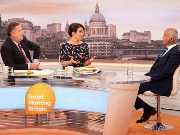 Piers Morgan and Andrew Ridgeley clashed on 'Good Morning