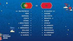 Maroc-Portugal: Voici les compositions des deux équipes