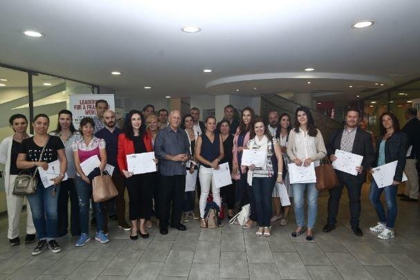 Επιτυχής ολοκλήρωση του σεμιναρίου «Leadership for a fractured world» στο Athens Tech College υπό τον Dr. Dean