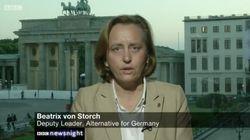 BBC-Moderatorin interviewt AfD-Politikerin von Storch – die jammert danach auf
