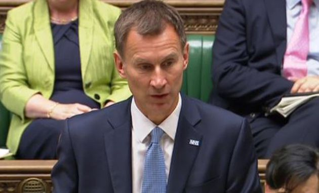 In a statement to the commons about the findings of the Gosport hospital inquiry, Jeremy Hunt apologised...