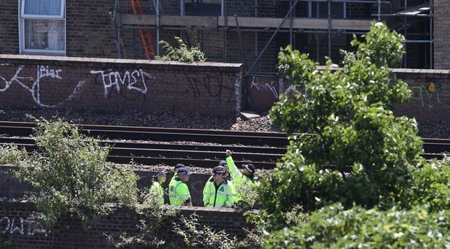 The bodies were found on the railway between Brixton and Denmark