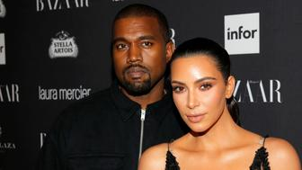 Kanye West and Kim Kardashian attend Harper's Bazaar's celebration of 'ICONS By Carine Roitfeld' at The Plaza Hotel during New York Fashion Week in Manhattan, New York, U.S., September 9, 2016.  REUTERS/Andrew Kelly