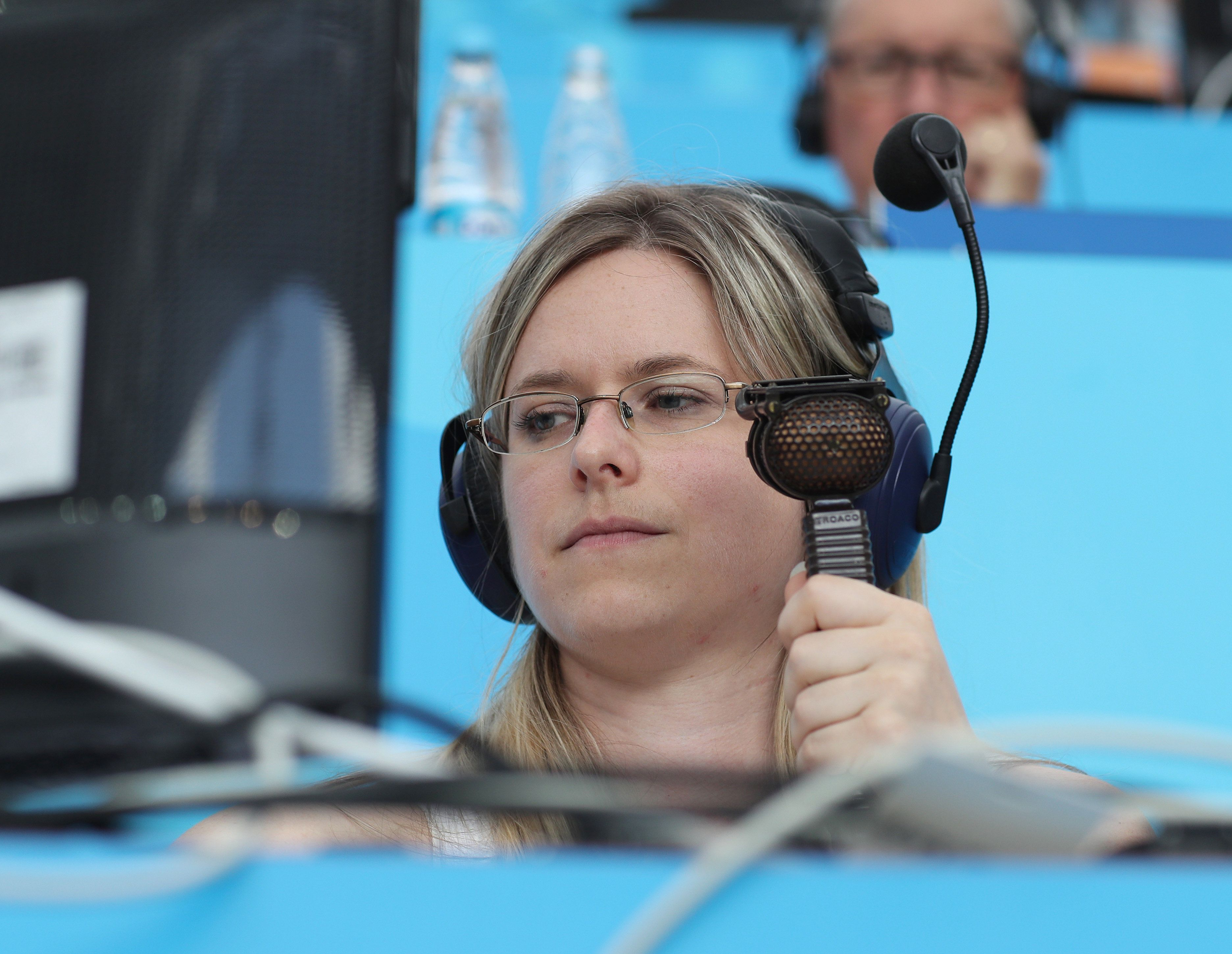 Commentator Vicki Sparks Makes World Cup History (But Some People Just Can't Handle