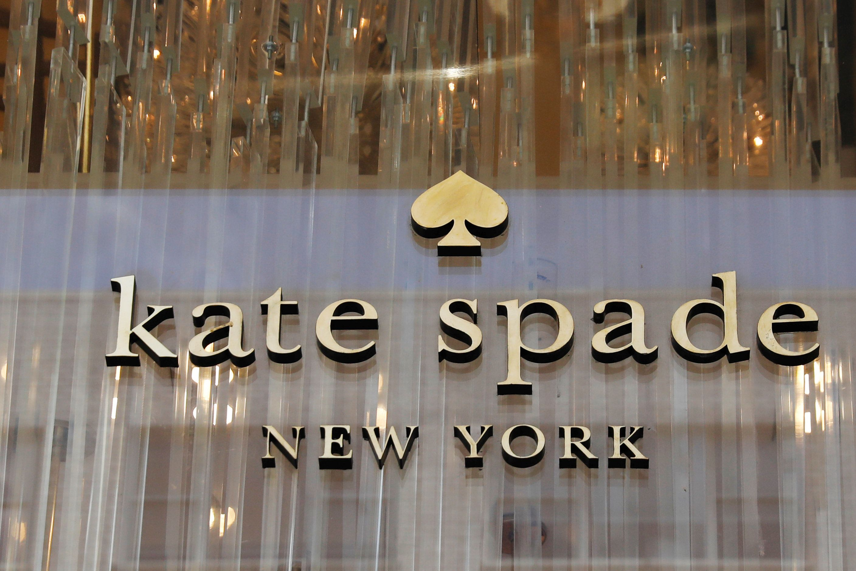 The outside of a Kate Spade store is seen in Manhattan, New York, U.S., June 5, 2018.  REUTERS/Shannon Stapleton