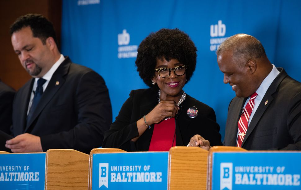 Valerie Ervin was running third in most polls before she dropped out of the race and endorsed Baker.