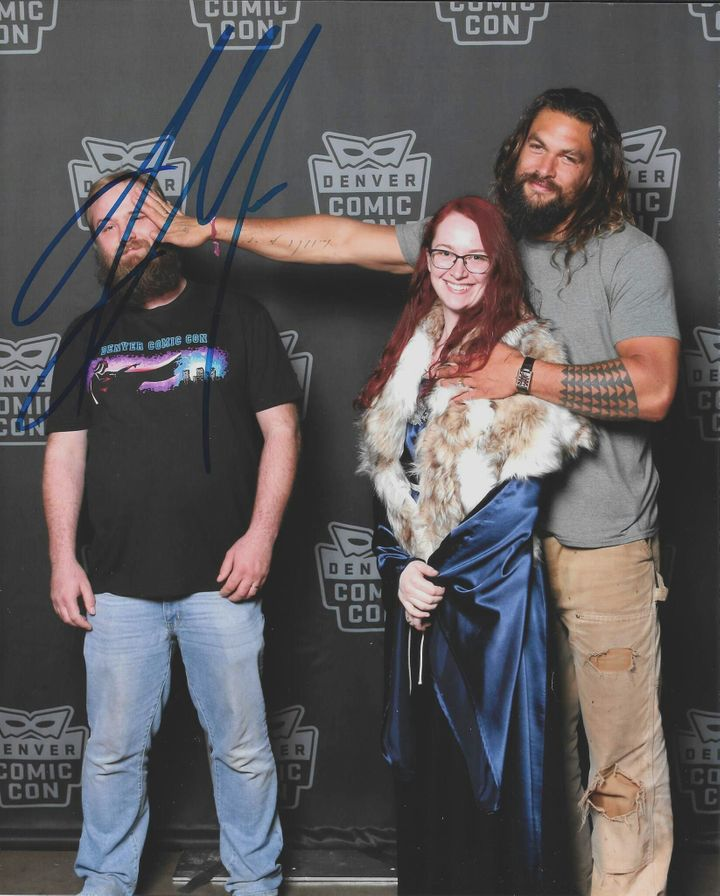 Jason Momoa's Quick Wit Turns Couple's Fun Fan Photo Into Comedy Gold