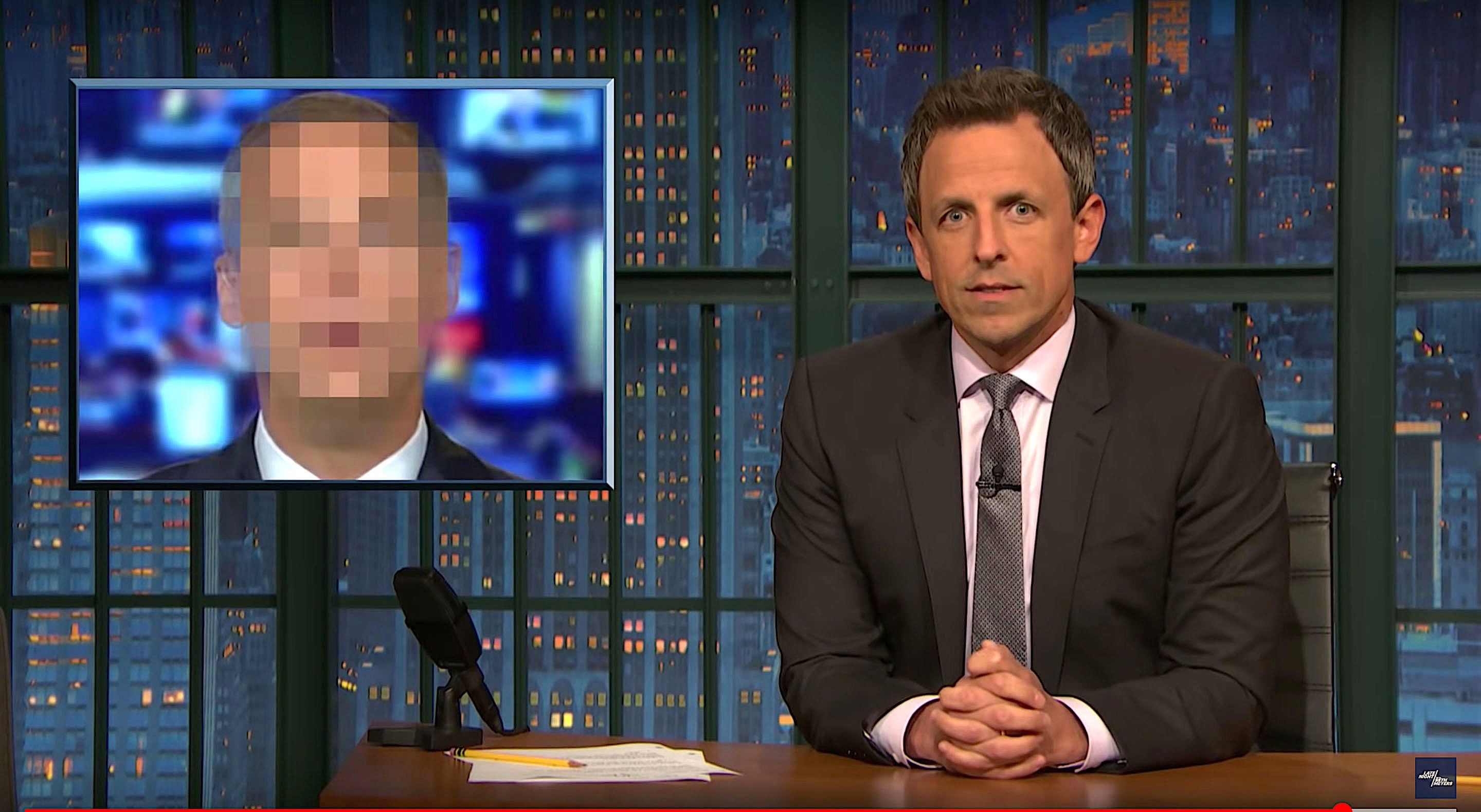 Seth Meyers of Late Night calls out the liars