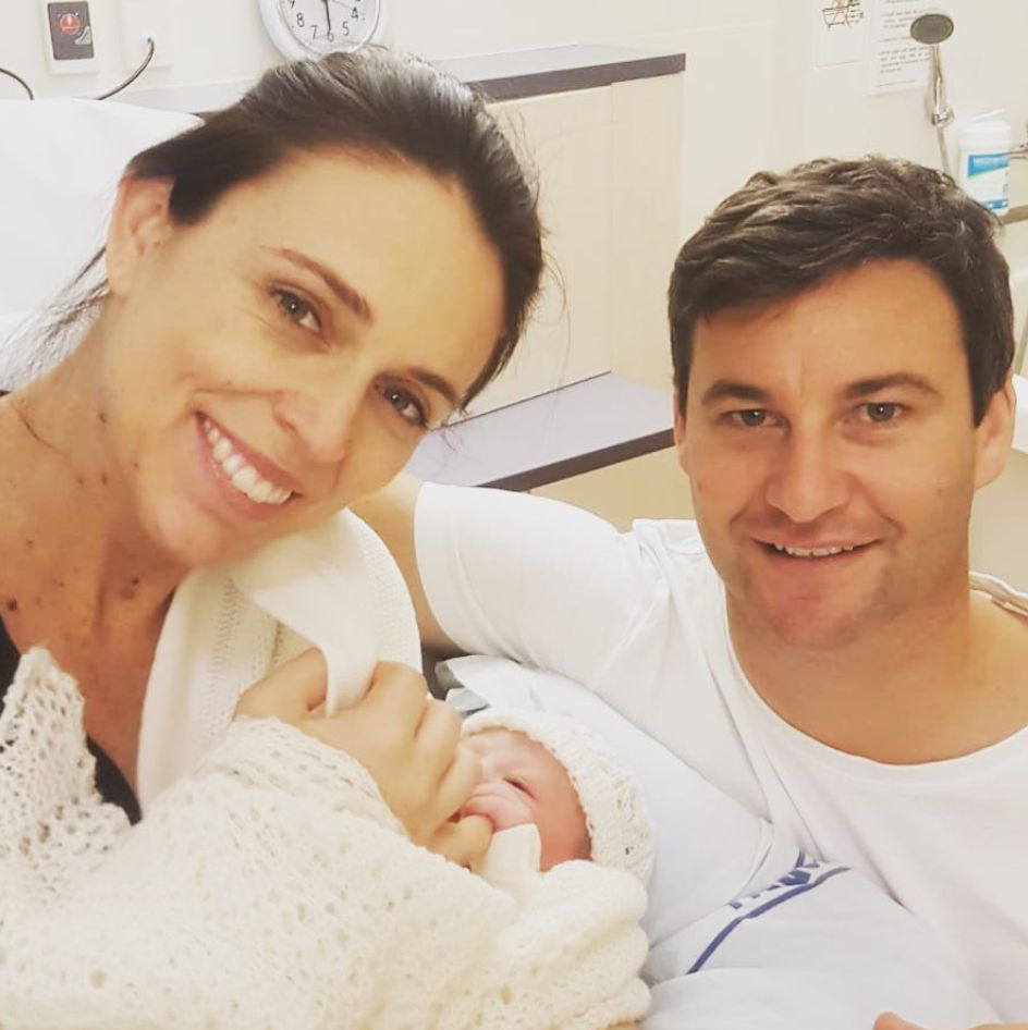 New Zealand Prime Minister Jacinda Ardern Gives Birth To A