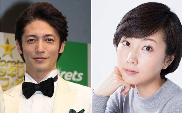 일본 배우 타마키 히로시와 키나미 하루카가