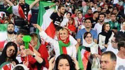 월드컵을 맞아, 이란에서 정말 기념비적인 사건이