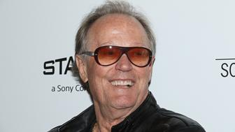 NEW YORK, NY - JUNE 11:  Actor Peter Fonda attends the screening of Sony Pictures Classics' 'Boundaries' hosted by The Cinema Society with Hard Rock Hotel and Casino Atlantic City at The Roxy Cinema on June 11, 2018 in New York City.  (Photo by Jim Spellman/WireImage)