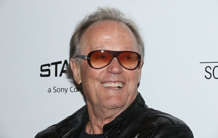 "Peter Fonda is in hot water for what he admitted was an ""inappropriate"" tweet about the president's 12-year-old son."