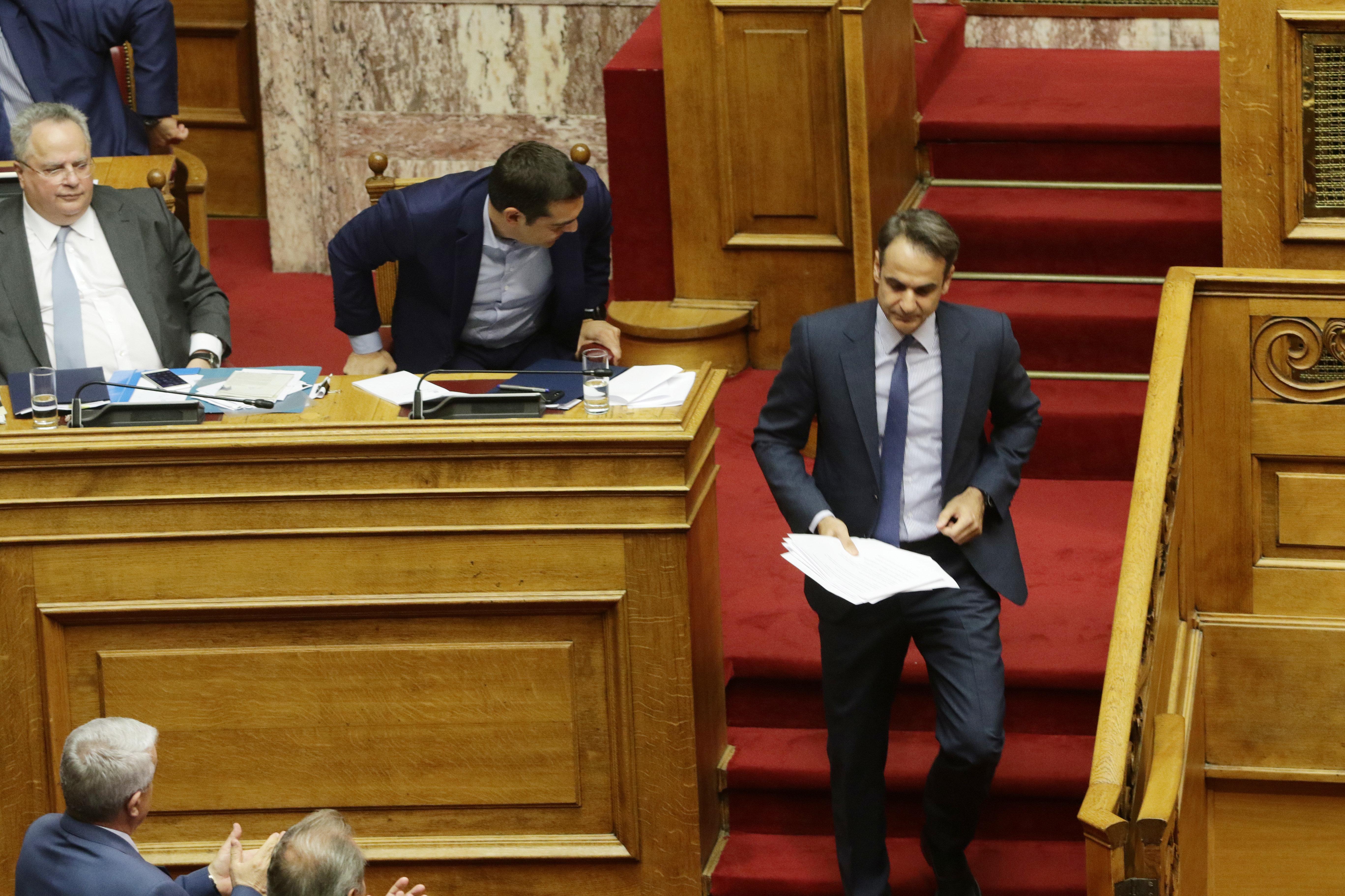 Μητσοτάκης: «Ο κ. Τσίπρας και η κυβερνητική πλειοψηφία εκχώρησαν τη μακεδονική εθνότητα και τη μακεδονική