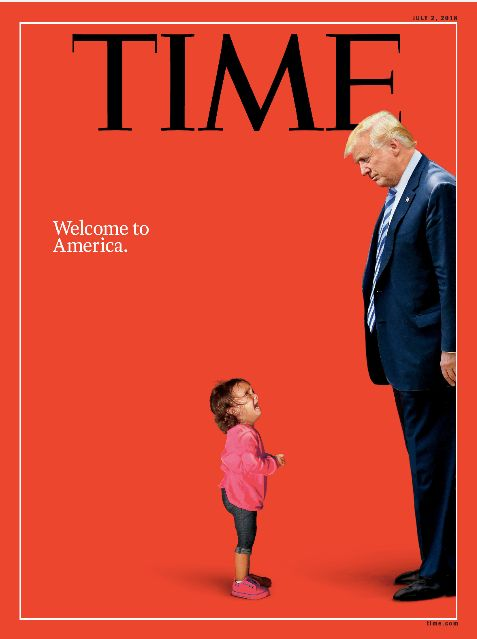 Donald Trump And Immigrant Girl Meet Face To Face On Time