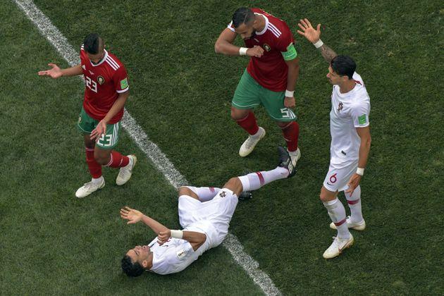 Portugal-Maroc: Cette simulation grossière de Pepe face à Medhi Benatia a inspiré les